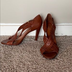 Antonio Melani braided heels